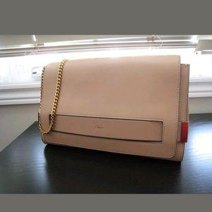 Handbags - Sold Chloe Elle LARGE Nude Clutch Bag